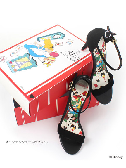 ●Disney Alice in Wonderland●Queen of hearts sandals