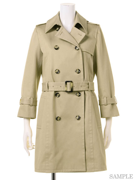 Standard Short Trench Coat