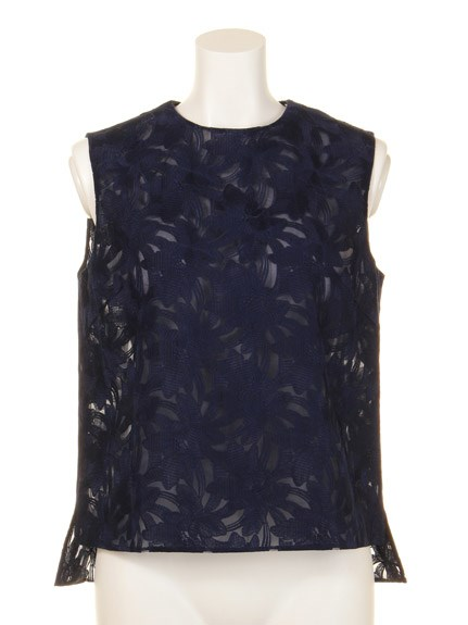 【GREED】EX EMBROIDERY Sleeveless Top