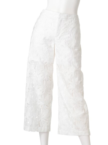 EX EMBROIDERY Pants