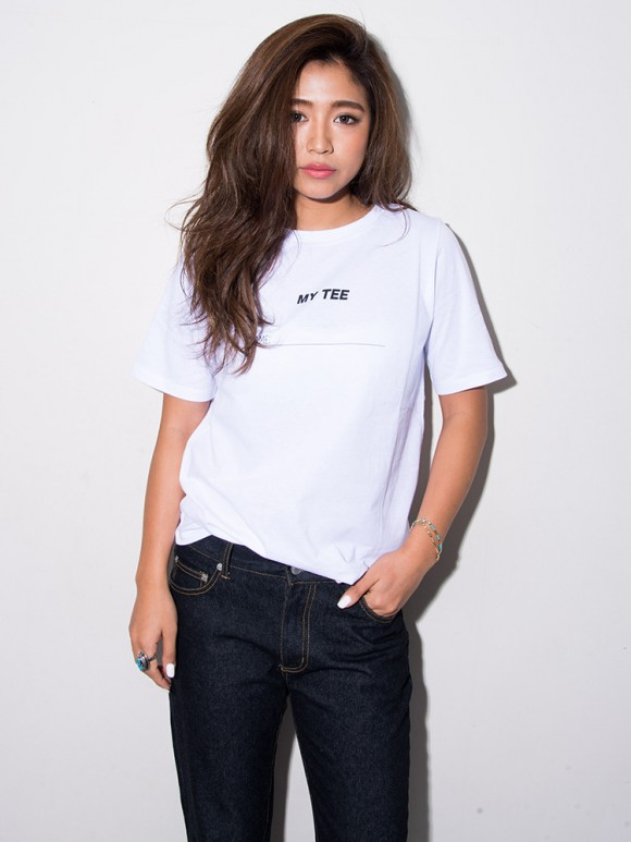 FLOVE(フローヴ) LADY'S NAMEロゴTEE