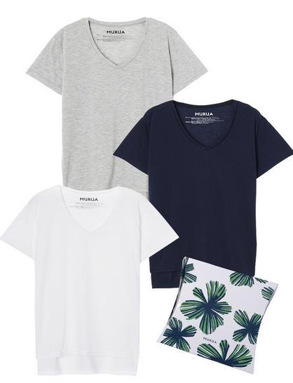 MURUAのTシャツパック
