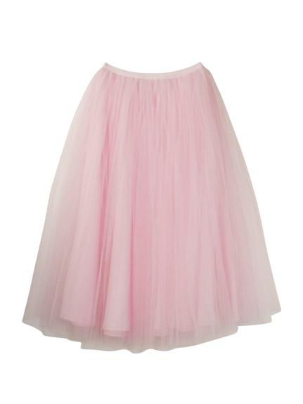 ハニーミーハニー tulle long skirt