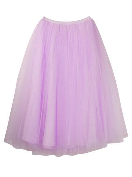 ハニーミーハニー tulle long skirt2