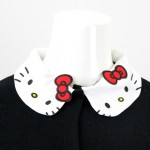 Nina mew (ニーナミュウ) キティ襟ニットカーデ