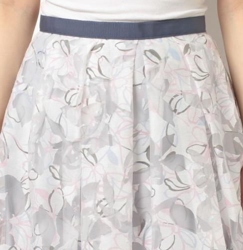 アプワイザー リッシェ  オパール×ラインフラワースカート