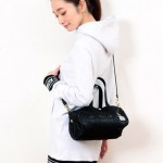 X-girl×PORTER INSIDE LEOPARD 2WAY BOSTON BAG