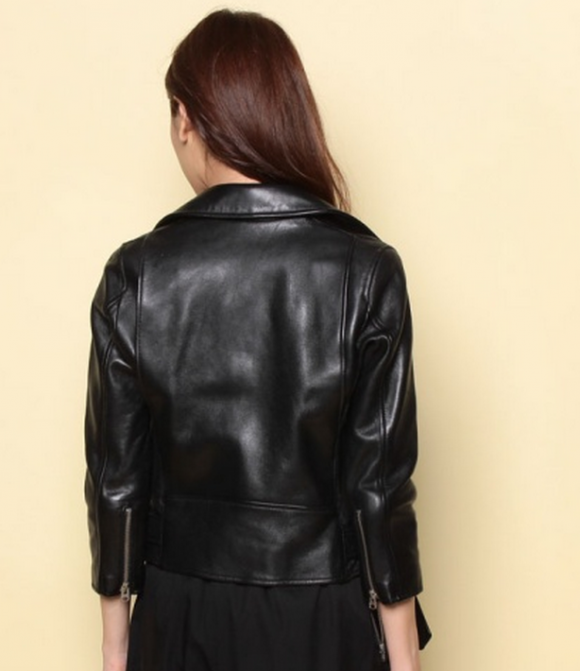 ビューティフルピープル vintage leather riders jacket