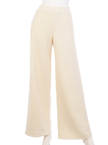BED&BREAKFAST Ripple Jersey Wide Pants