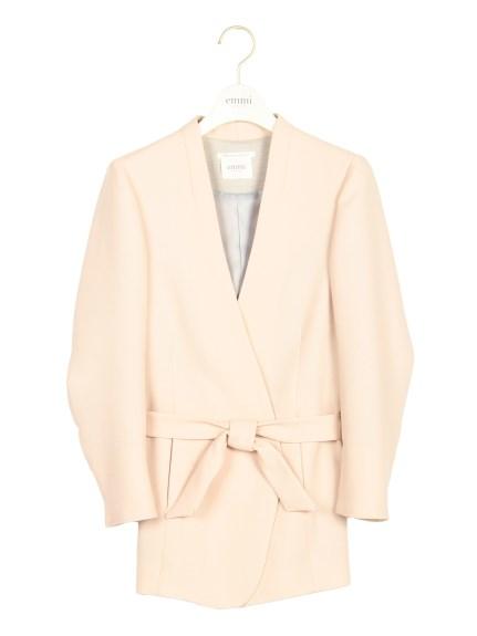 emmi (エミ) ベルト付きジャケット