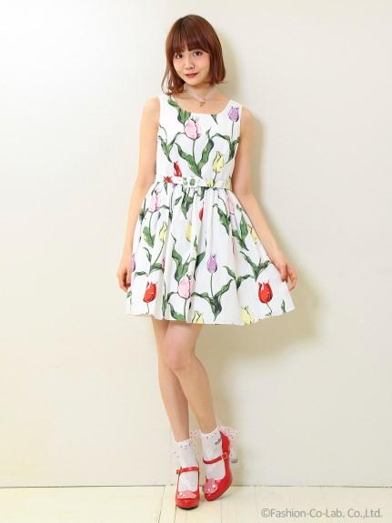 MILK (ミルク)  チューリーロマンス dress2