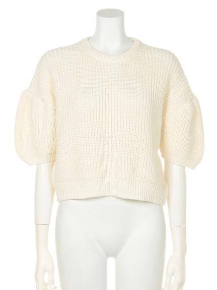 グリード CASHMERE LILY Short Sweater3