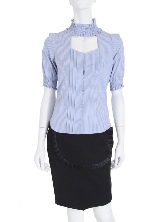 EATME シャーリングコットンシャツ3