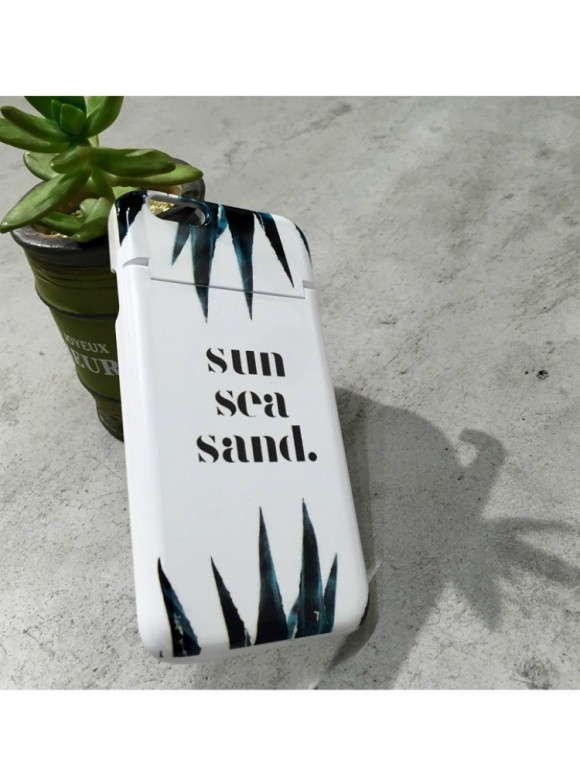 FLOVE sun sea sand iPhone case