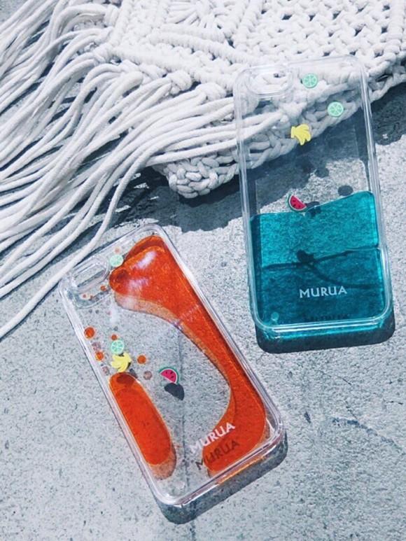 MURUA waterin フルーツiPhone6ケース