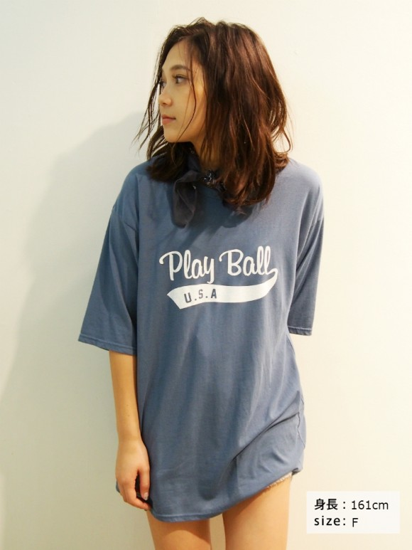 Ungrid Play BallプリントTee