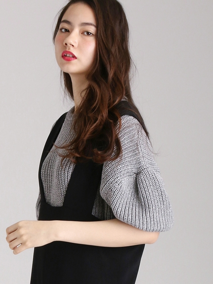 グリード CASHMERE LILY Short Sweater