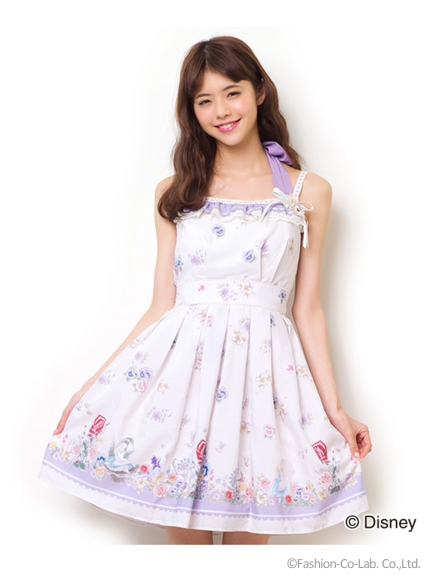 シークレットハニー ゴールデンアフタヌーンワンピース(Alice in Wonderland ver.)