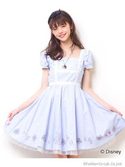 シークレットハニー ティータイムワンピース(Alice in Wonderland ver.)