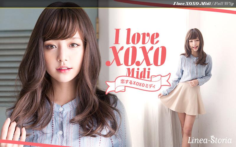 フルウィッグ「恋するXOXOミディ」