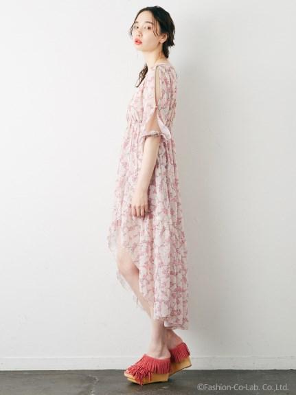 Rosarymoon デザートフラワーローブドレス2
