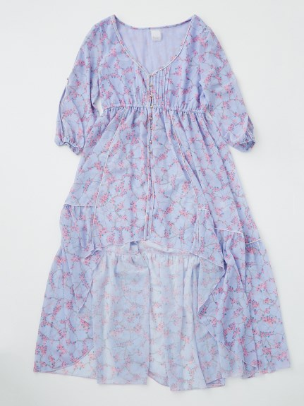 Rosarymoon デザートフラワーローブドレス3