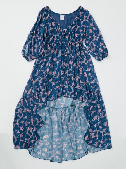 Rosarymoon デザートフラワーローブドレス4